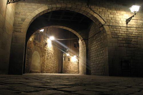 tour notturno Quartiere Gotico