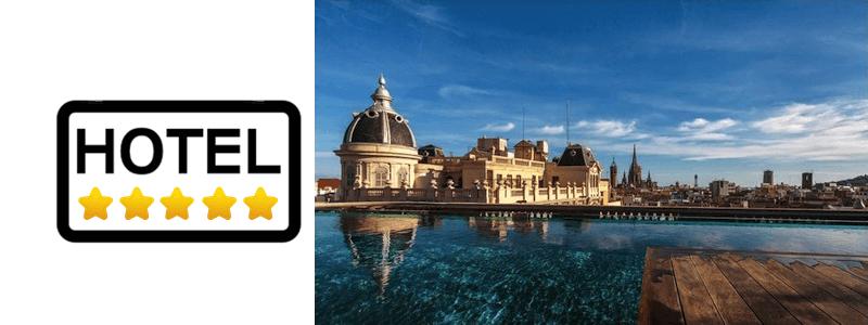 hotel 5 stelle Barcellona