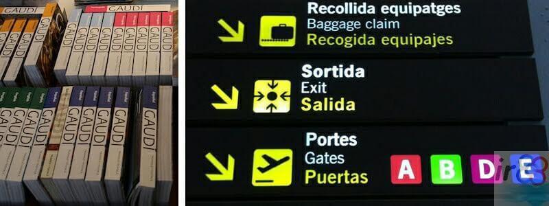 souvenir Aeroporto di Barcellona