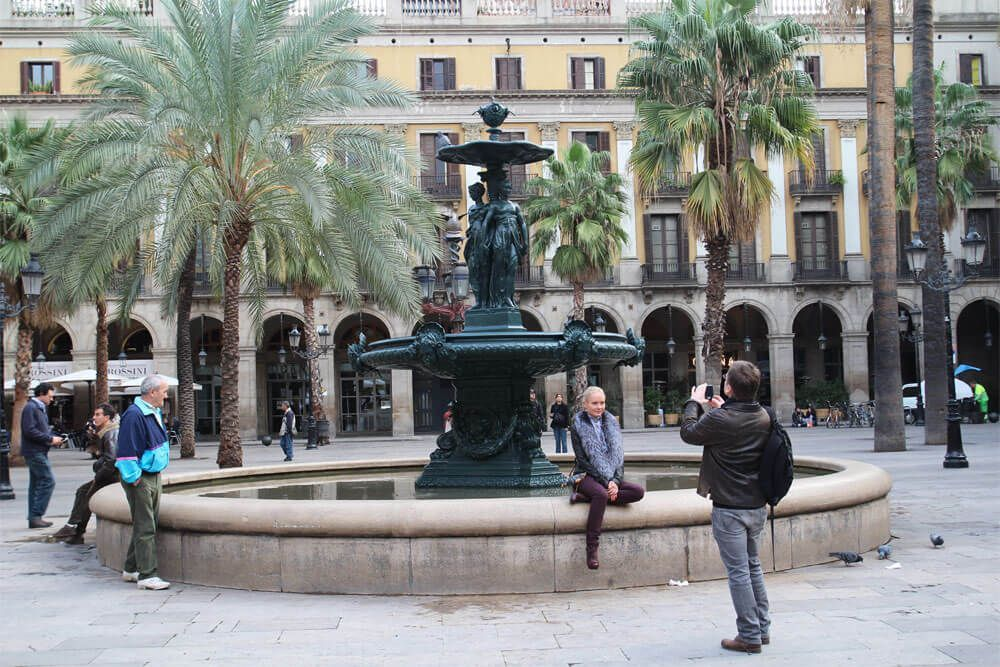 fontana delle Tre Grazie