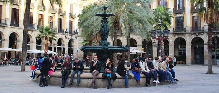 Plaça Reial Barcellona