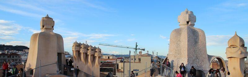 tetto Casa Milà