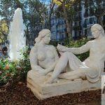 scultura Jardinets de Gràcia