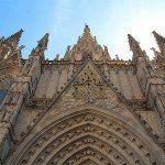 facciata Cattedrale di Barcellona