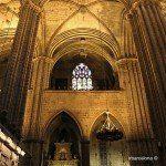 interno Cattedrale di Barcellona