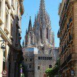 campanile Cattedrale di Barcellona