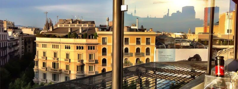 terrazze alberghi Barcellona