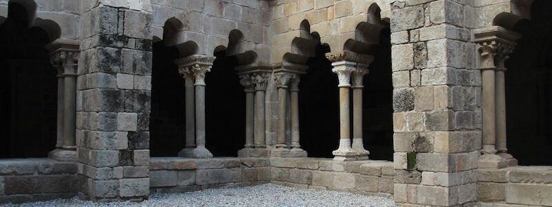 chiostro romanico Sant Pau del Camp