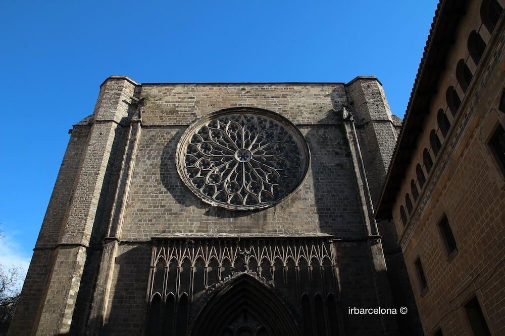 facciata Santa Maria del Pi