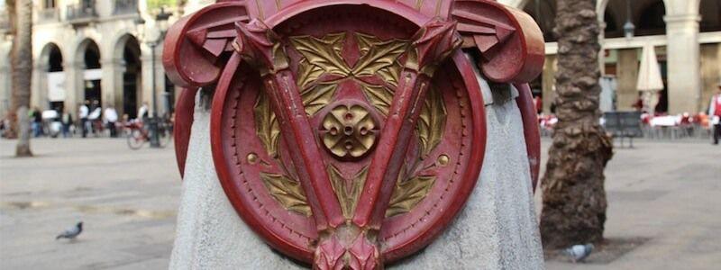 Lampioni Antoni Gaudí