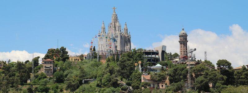 Tibidabo montagna Barcellona