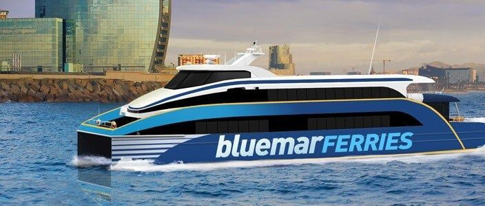 Traghetto Sitges Barcellona BlueMar