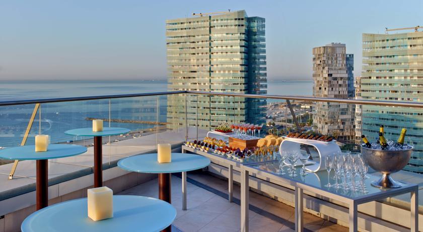 hotel a barcellona sul mare appartamenti spiaggia