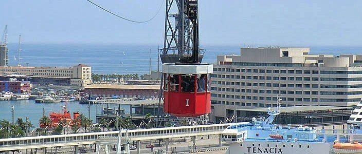 Aeri del Port, funivia porto Barcellona