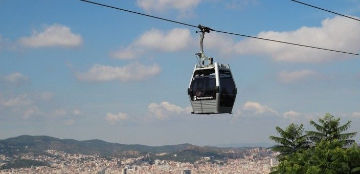 Teleferica di Montjuïc