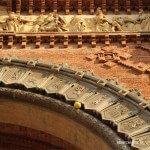 palline nell'Arco del Trionfo