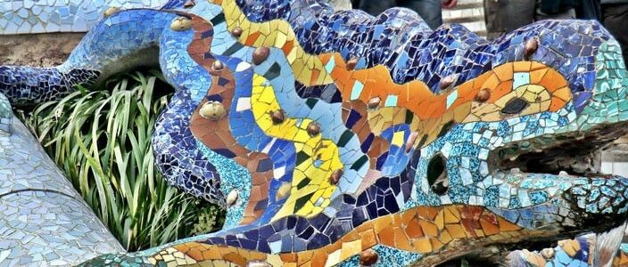 Salamandra Gaudí Parco Güell