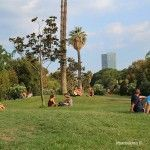 rilassamento nel Parc de la Ciutadella