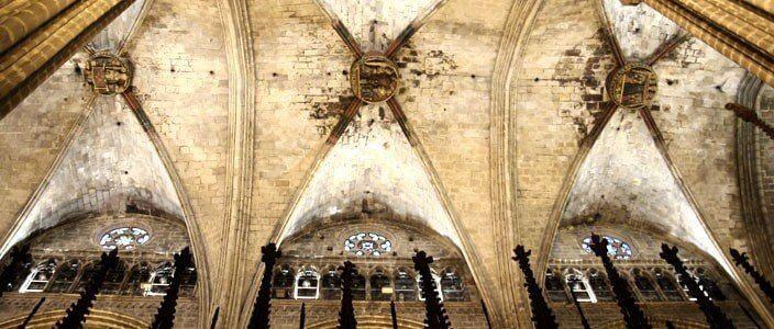 basilica di Santa María del Mar di Barcellona