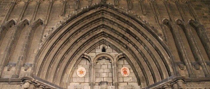 arco gotico Santa Maria del Pi