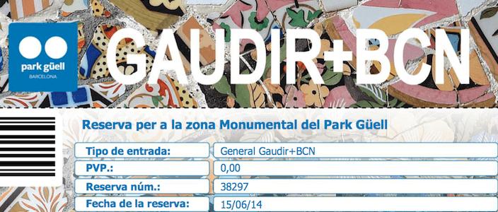 Gaudir Més BCN: registrazione per l'ingresso gratuito alla Zona Monumentale del Parco Güell