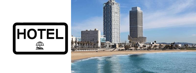 Hotel Barcellona sul mare