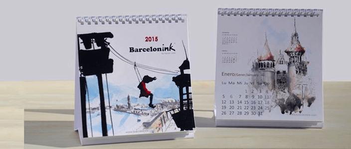 Sorteggio del Nuovo Calendario di Barcelonink 2015
