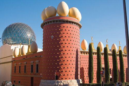 Figueres, Dalí e Girona