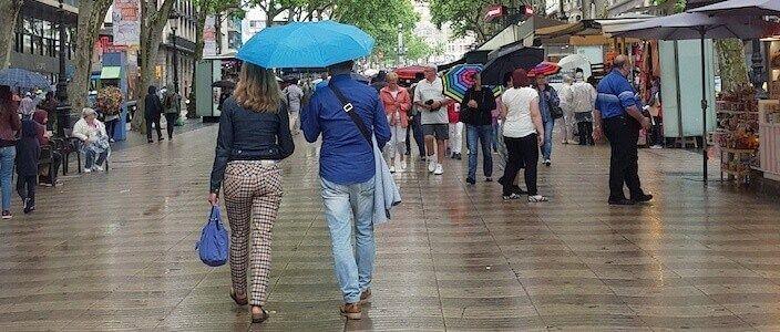Barcellona se piove