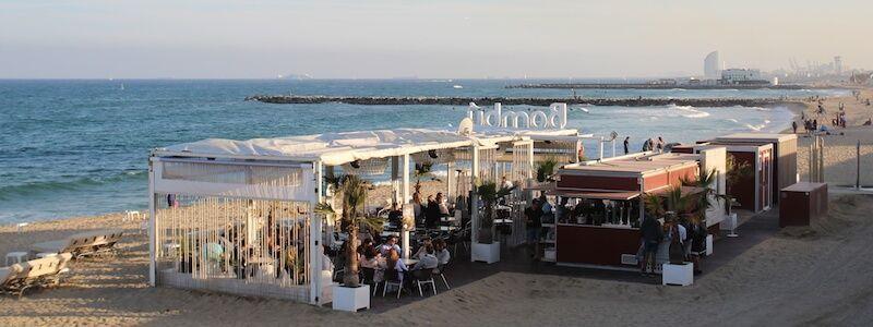 Chiringuitos Barcellona (bar sulla spiaggia)