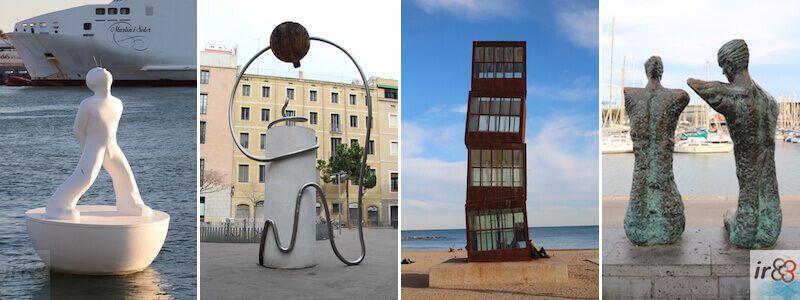 Sculture e statue urbane a Barcellona