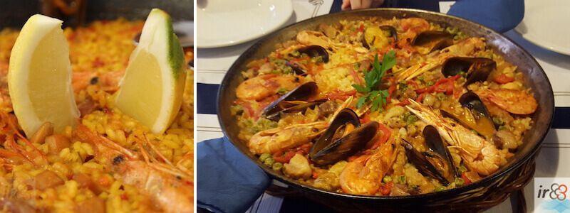 Paella Spagnola Barcellona