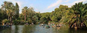 barche parco della Ciutadella