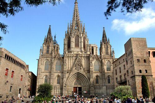 percorso Quartiere Gotico Barcellona