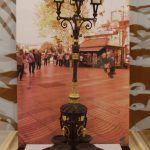 Fontana di Canaletes di cioccolato