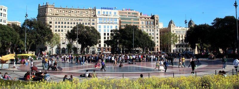 Piazza Catalunya
