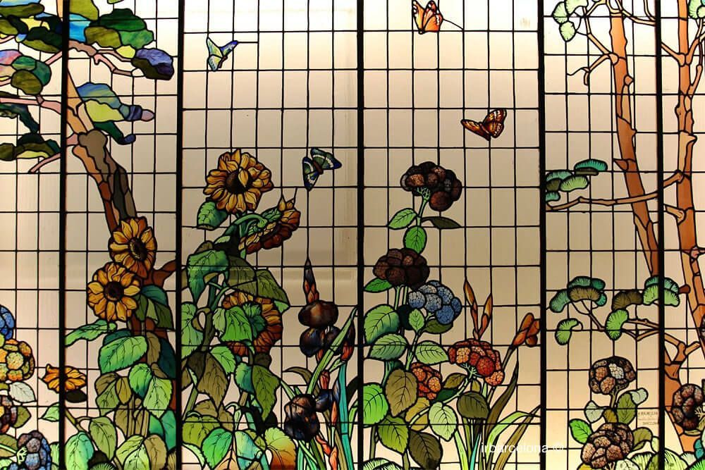 vetrate floreali