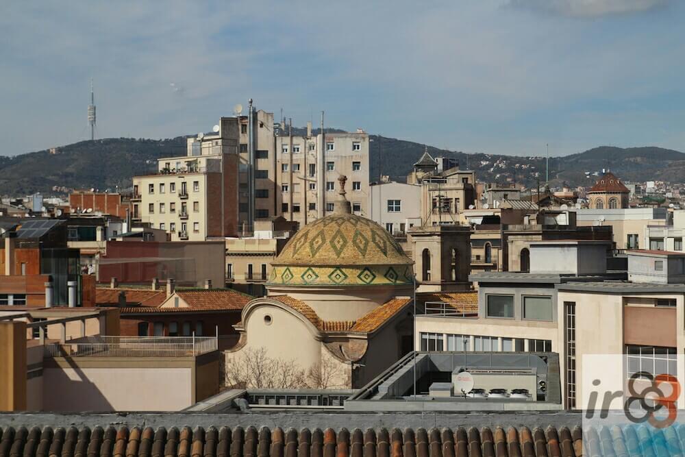 vista del Quartiere del Raval