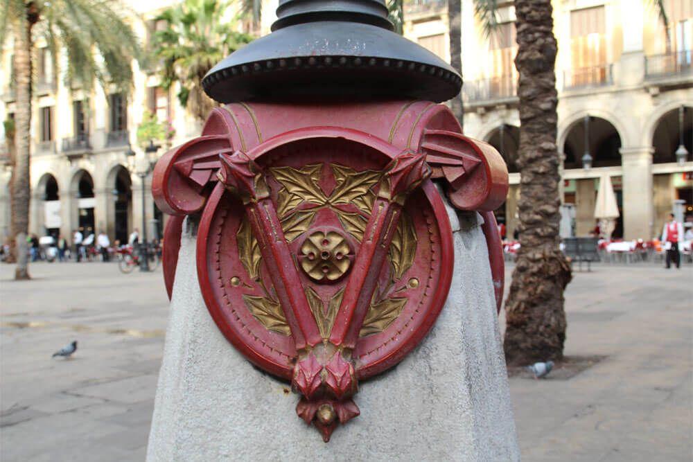 lampioni da Antoni Gaudí