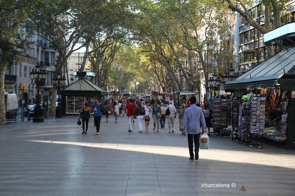 La Rambla Barcellona