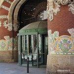 antico ingresso del Palau de la Música Catalana