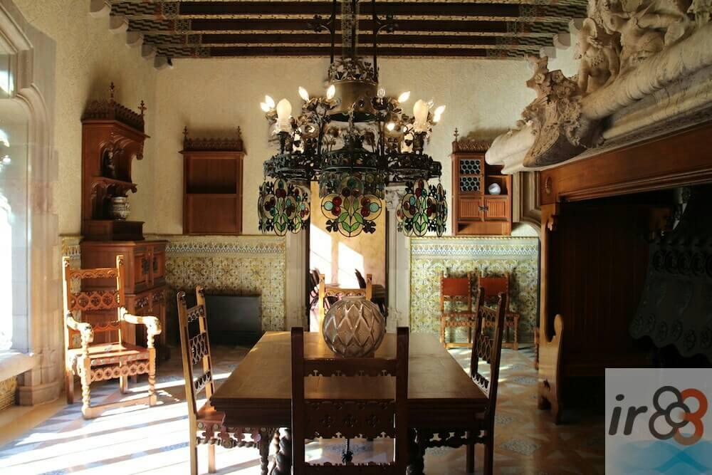 sala da pranzo Casa Amatller