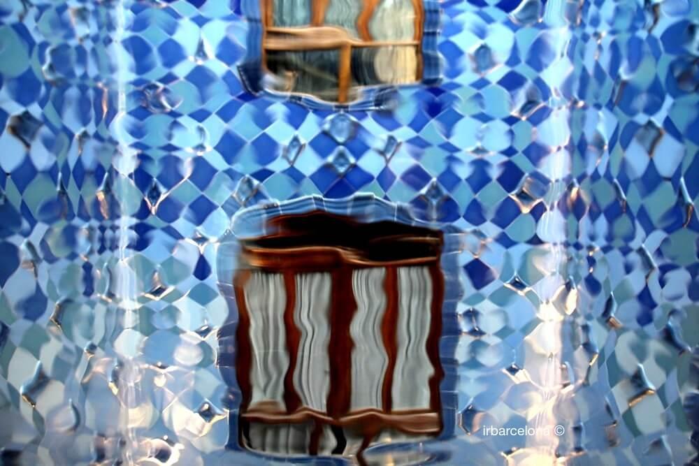effetti ottici Casa Batlló