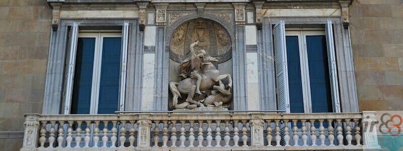 facciata Palau Generalitat Catalunya