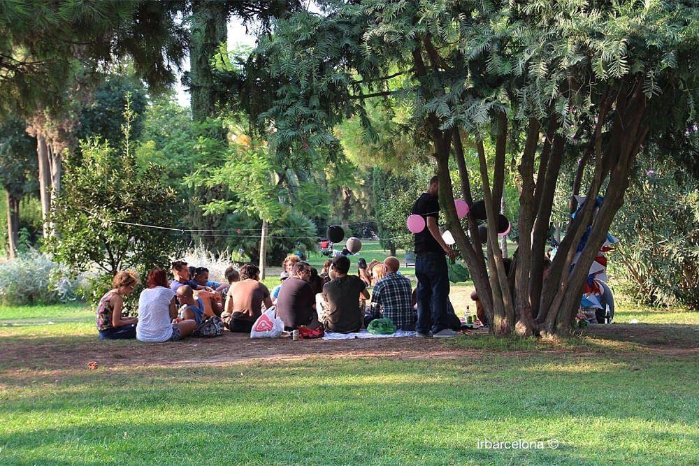 festa nel Parc de la Ciutadella