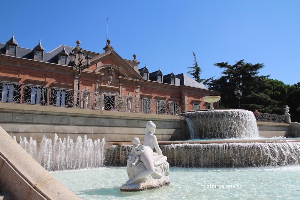 fontana e Palauet Albéniz