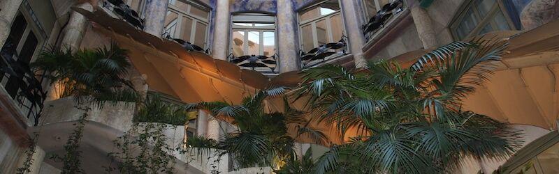 patio interno Casa Milà