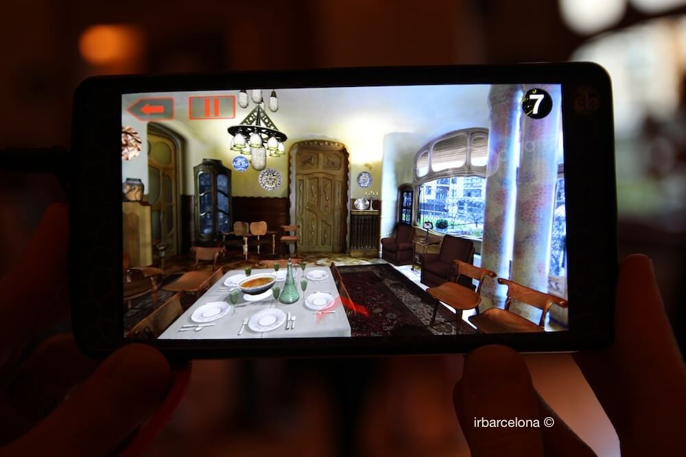 realtà aumentata Casa Batlló