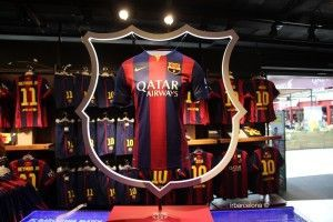 negozio Camp Nou