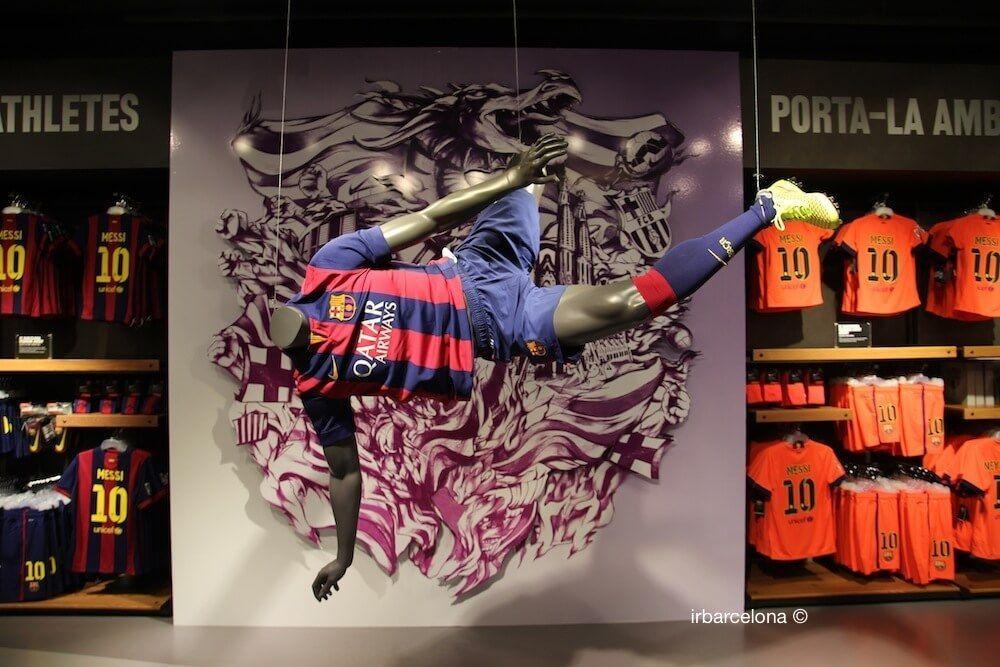 negozio FC Barcelona